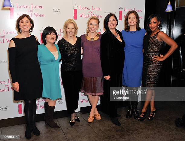 Maria Tucci Ann Harada Daryl Roth Alicia Goranson Karen Carpenter Margaret Colin and Tichina Arnold attend the after party for the new cast of Love...