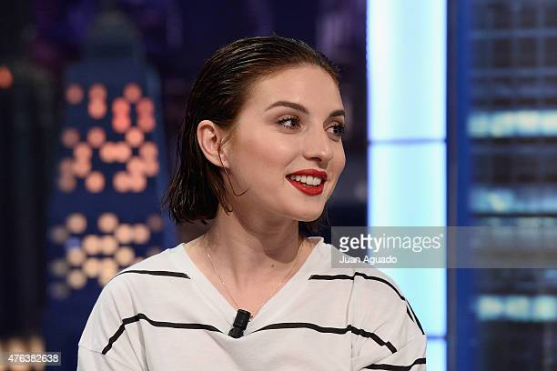 Maria Valverde and Dani Rovira attend 'El Hormiguero' TV Show at Vertice Studio on June 8 2015 in Madrid Spain