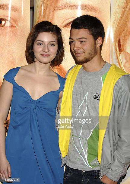 Maria Valverde and Nilo Mur during 'Melissa P' Promotional Photocall February 23 2006 at Acteon Cinemas in Madrid Spain