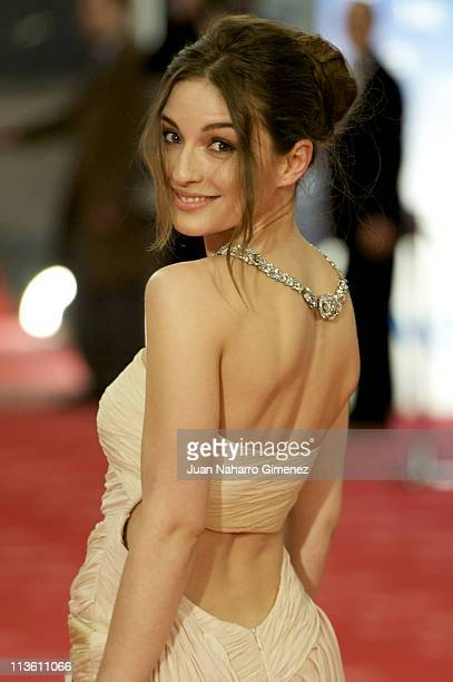 Maria Valverde arrives to the 2011 edition of the 'Goya Cinema Awards' ceremony at Teatro Real on February 13 2011 in Madrid Spain