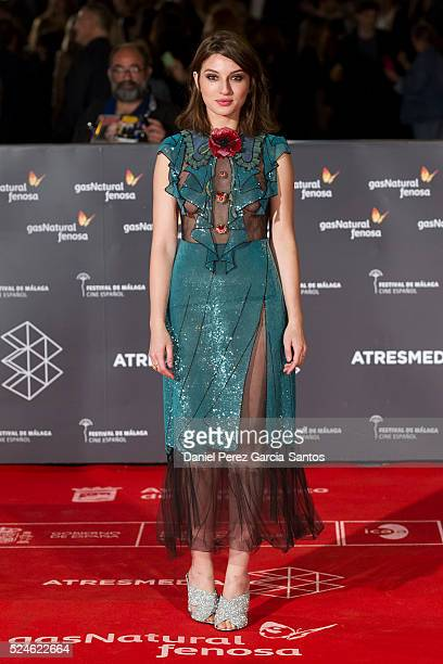 Maria Valverde attends 'Julie' premiere during the 19th Malaga Film Festival on April 26 2016 in Malaga Spain