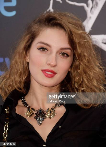 Maria Valverde attends 'Las brujas de Zugarramurdi' premiere photocall at Kinepolis Cinema on September 26 2013 in Madrid Spain