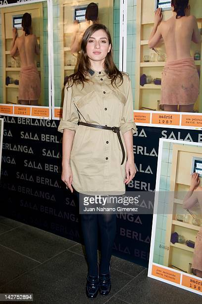 Maria Valverde attends Madrid 1987 photocall at Berlanga Cinema on April 12 2012 in Madrid Spain