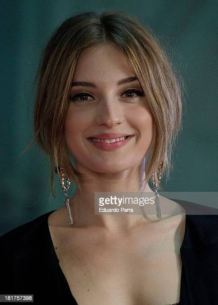 Maria Valverde attends Neox Fan Awards photocall at IFEMA Congress Hall on September 24 2013 in Madrid Spain