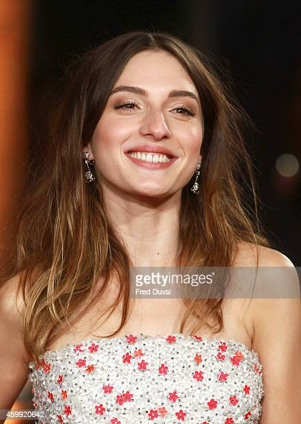 Maria Valverde attends the ExodusGods And KingsUK Film Premiere at Odeon Leicester Square on December 3 2014 in London England