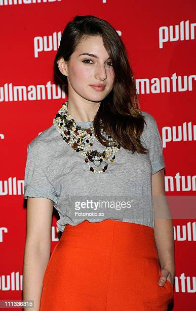 Maria Valverde attends the launch of 'Viajes Ocio Placer' Pullmantur's Magazine at Oui on March 31 2011 in Madrid Spain