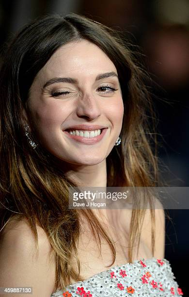 Maria Valverde attends the World Premiere of Exodus Gods and Kings at Odeon Leicester Square on December 3 2014 in London England