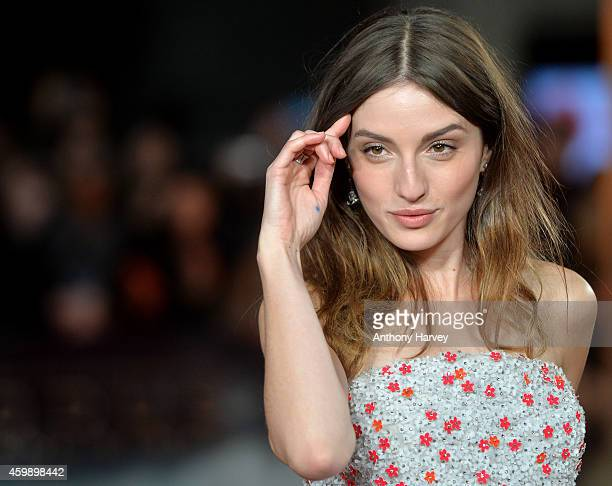 "Maria Valverde attends the World Premiere of ""Exodus Gods and Kings"" at Odeon Leicester Square on December 3, 2014 in London, England."