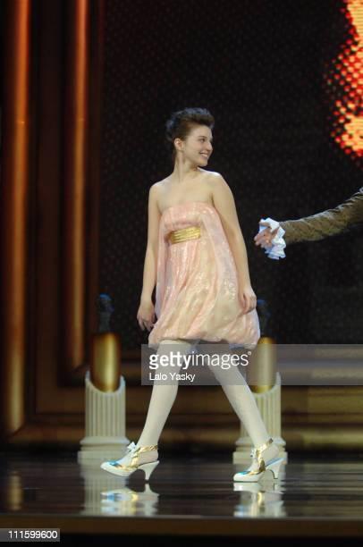 Maria Valverde during 2007 Goya Awards Ceremony at Palacio de Exposiciones in Madrid Spain
