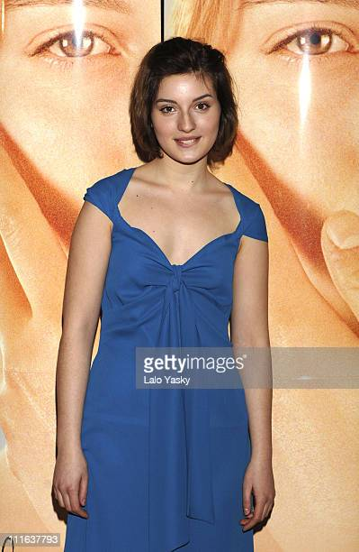 Maria Valverde during Melissa P Promotional Photocall February 23 2006 at Acteon Cinemas in Madrid Spain