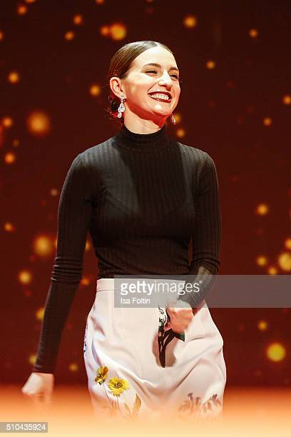 Maria Valverde during the presentation of the European Shooting Stars 2016 as part of the 66th Berlinale International Film Festival Berlin at...
