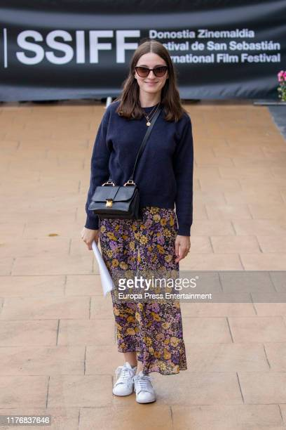 Maria Valverde is seen arriving at 67th San Sebastian International Film Festival on September 24 2019 in San Sebastian Spain