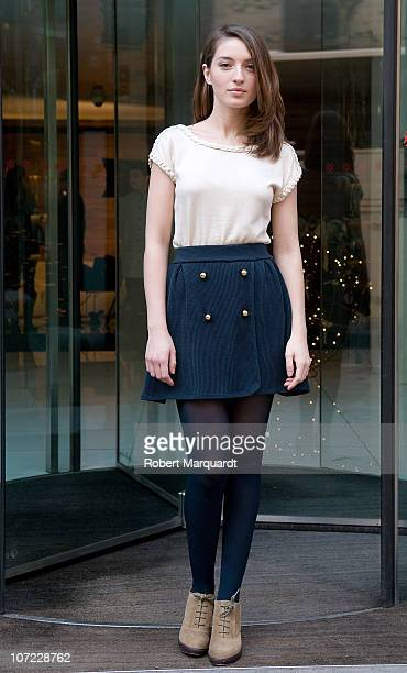 Maria Valverde poses during a private photo session at the hotel Alexandra on December 1 2010 in Barcelona Spain