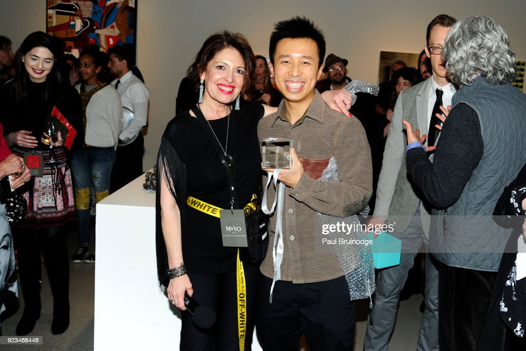 MvVO ART Discover The Next Generation of Artists From Advertising at AD ART SHOW : News Photo