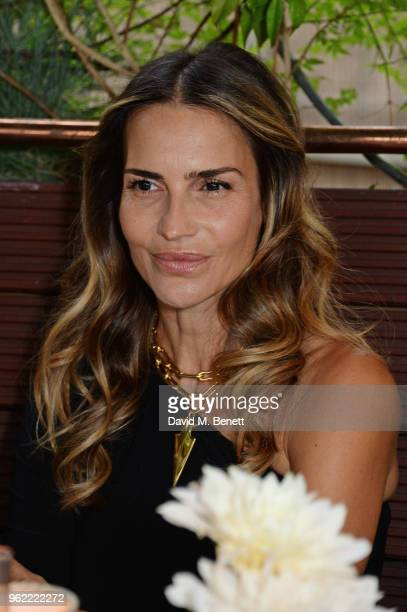 Maria Vazquez attends a private dinner hosted by Cartier to celebrate the opening of the British Polo Season at Casa Cruz on May 24 2018 in London...