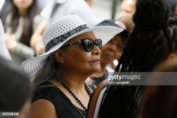 Maria Velazquez the mother of Jon Adrian Velazquez speaks during a press conference for retrial motion filed for Jon Adrian Velazquez on June 27 2017...