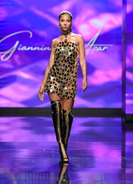 CA: Giannina Azar At Los Angeles Fashion Week Powered By Art Hearts Fashion