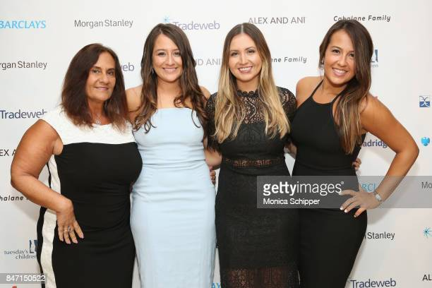 Maria Waring Jessica Waring Jamie Waring and Stephanie Waring attend Tuesday's Children Rise Up For Resilience Gala at Gustavino's on September 14...