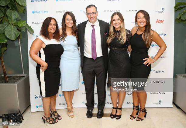 Maria Waring Jessica Waring Peter Feola Jamie Waring and Stephanie Waring attend Tuesday's Children Rise Up For Resilience Gala at Gustavino's on...