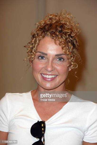 "Maria Wedig attends the ""Gute Zeiten, Schlechte Zeiten"" stars at DKMS-Event on July 28, 2019 in Potsdam, Germany. The GZSZ actors and fans support..."