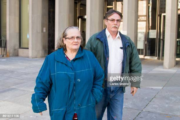 Maria Willett left and Gary Willett Sr are accused of enslaving a homeless man stealing his disability cheques and abducting his son