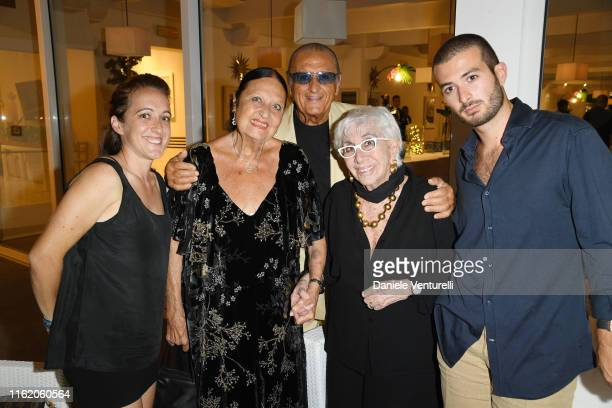 Maria Zulima Job Elettra Morini Tony Renis Lina Wertmuuller and Alessandro Santoni attends the 2019 Ischia Global Film Music Fest opening ceremony on...