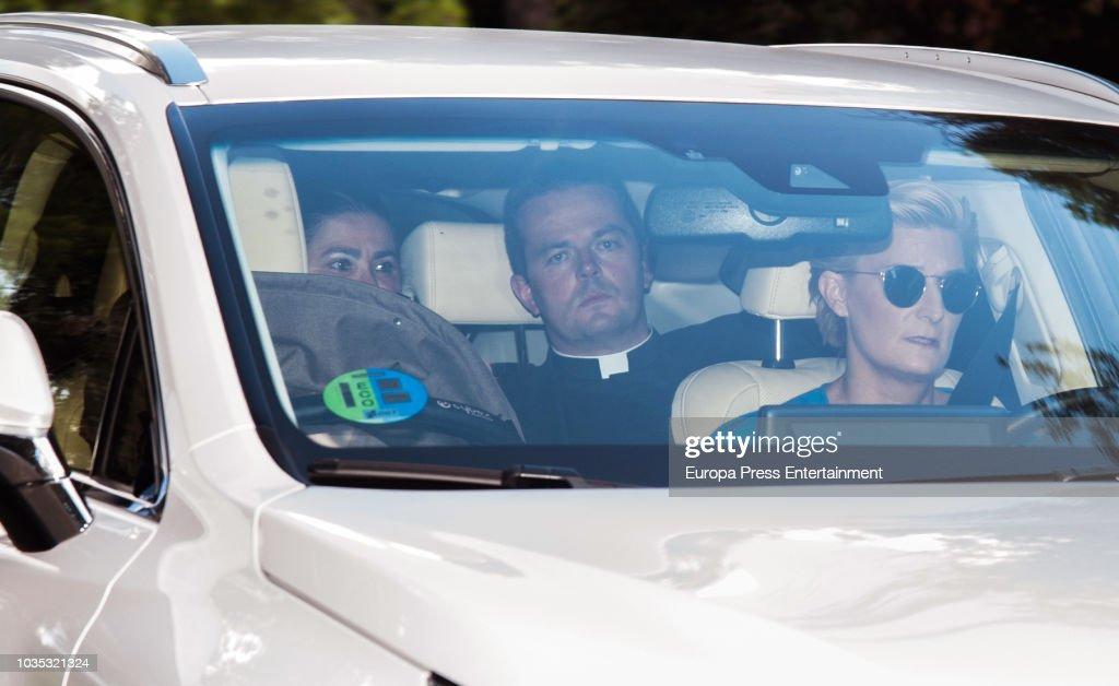 Spanish Royals Attend Carlos Zurita Jr's Christening In Madrid