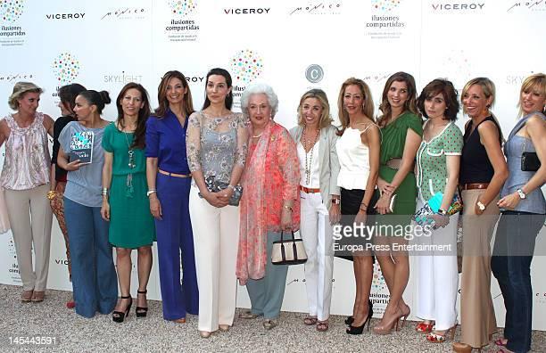 Maria Zurita Laura Ponte Chenoa guest Marilo Montero Barbara Cano Princess Pilar de Borbon Maria Escudero guest Margarita Vargas Paloma Segrelles...