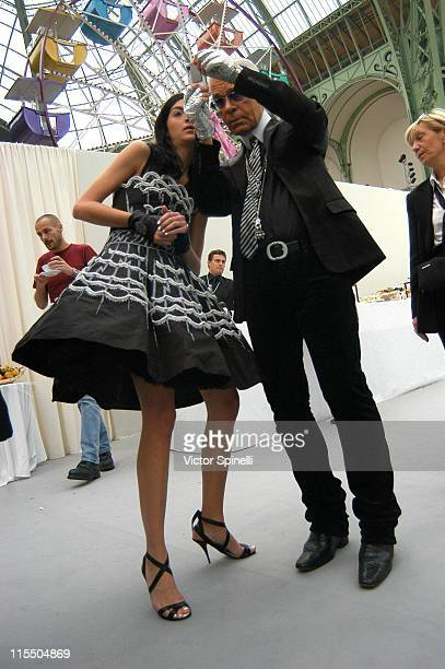 Karl Lagerfeld at The Olympus Fashion Week