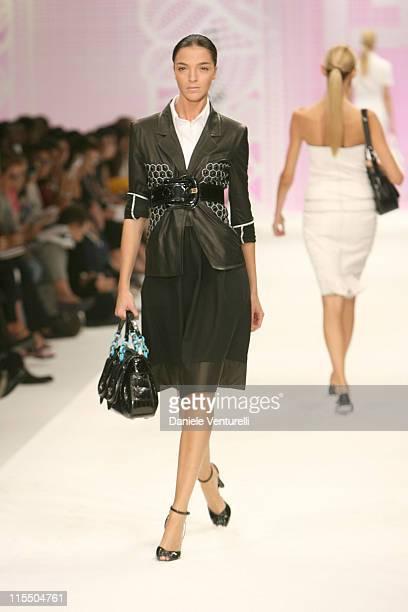 Mariacarla Boscono wearing Fendi Spring/Summer 2006