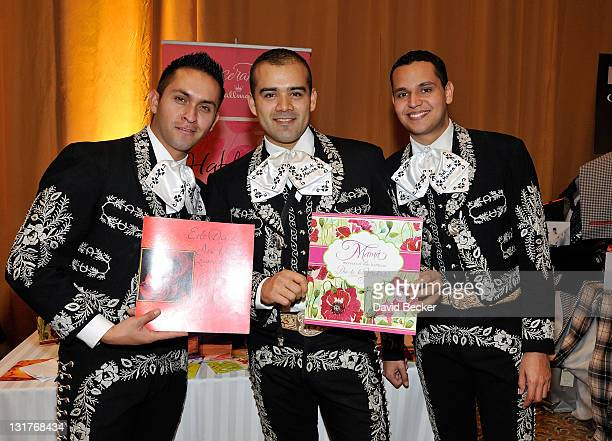 Mariachi Sol de Mexico attend the 11th Annual Latin GRAMMY Awards Gift Lounge held at the Mandalay Bay Events Center on November 10 2010 in Las Vegas...