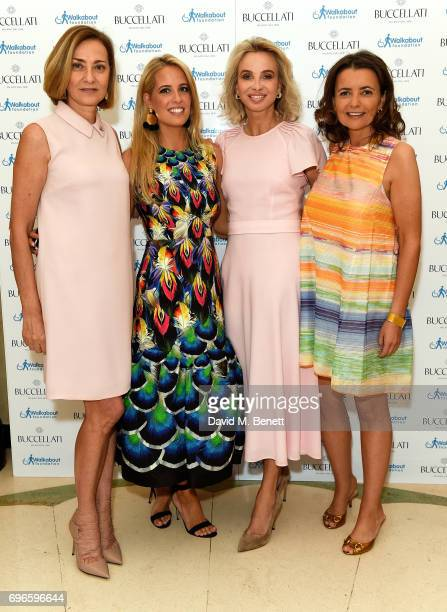 Mariacristina Buccellati Carolina GonzalezBunster Princess Corinna Sayn Wittgenstein and Isabel Falkenberg attend the Women4Walkabout Ladies Luncheon...