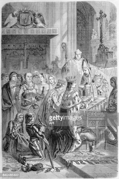 Mariage d'Anne de Bretagne et de Charles VIII de France le 6 décembre 1491 au château de Langeais