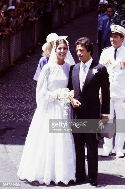 Mariage de Caroline de Monaco et de Philippe Junot à Monte-Carlo en juin 1978, Monaco.