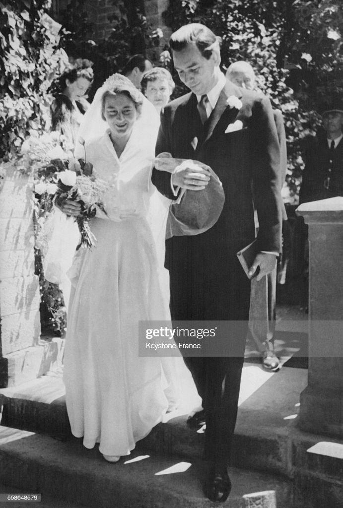 Mariage de la Princesse Cecilie de Prusse et de Clyde Harris : News Photo