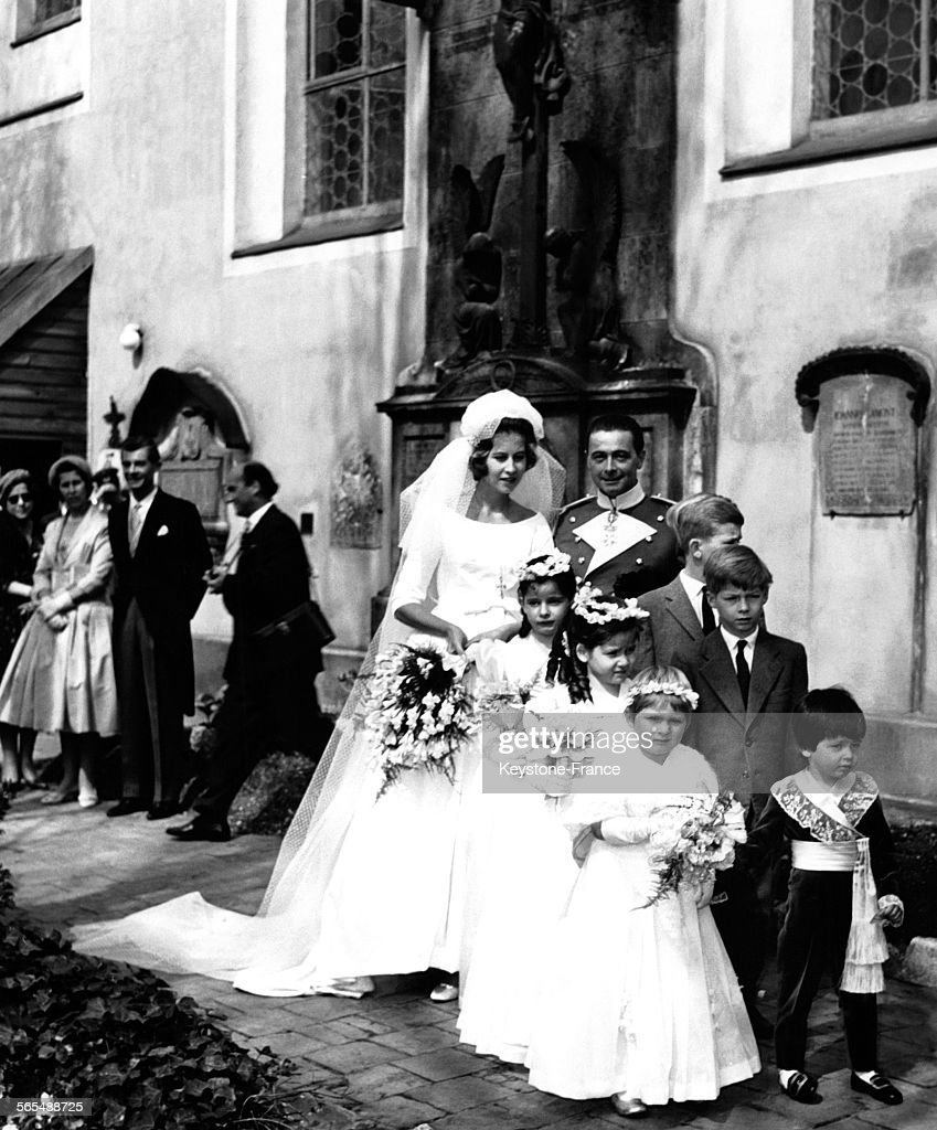 Mariage de Dorothée de Hesse-Cassel et Frédéric de Windish-Graetz : Nachrichtenfoto