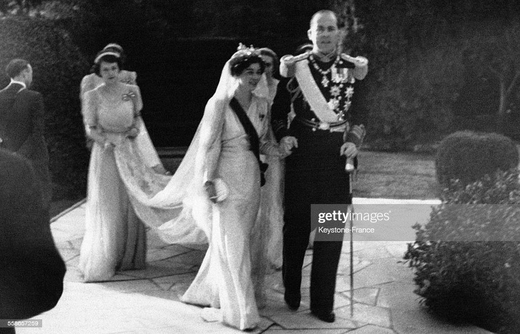 Mariage de Frederika de Hanovre et de Paul de Grèce : News Photo