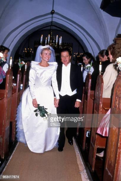 Mariage de Philippe Junot et Nina WendelboeLarsen le 10 octobre 1987 au Danemark