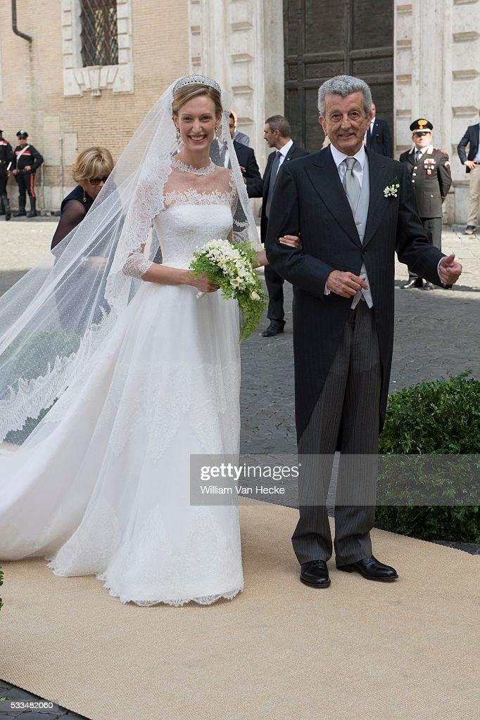 Wedding of Prince Amedeo of Belgium : News Photo