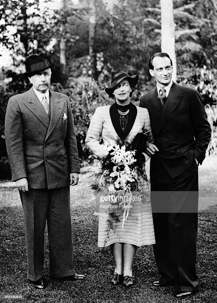 Mariage de Louis-Ferdinand de Prusse et de Kira Kirillovna de Russie : News Photo