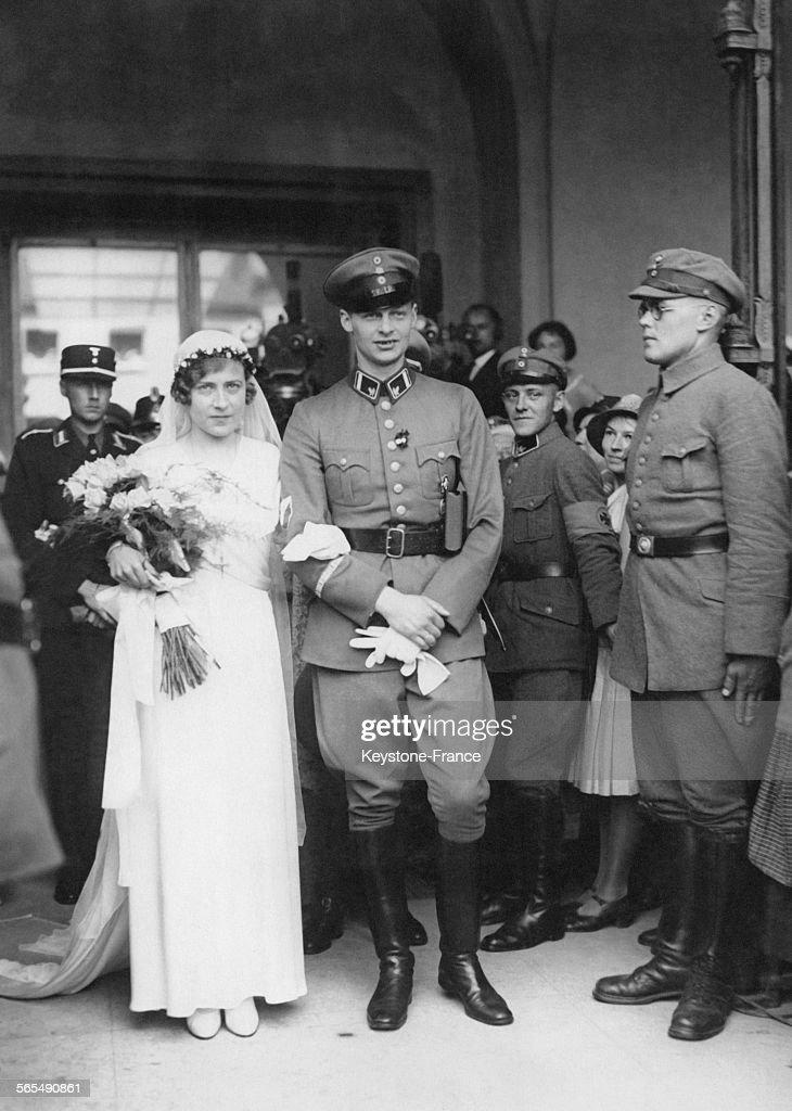 Mariage de Guillaume de Prusse et de Dorothea von Salviati : News Photo