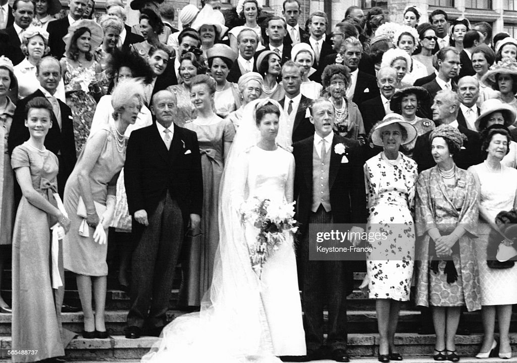 Mariage de Maurice de Hesse-Cassel et Tatiana de Sayn-Wittgenstein-Berleburg : News Photo