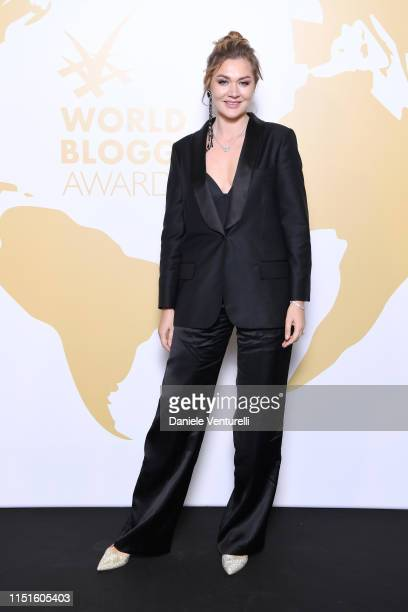MariaGrazhina Chaplin attends the Inaugural 'World Bloggers Awards' during the 72nd annual Cannes Film Festival on May 24 2019 in Cannes France The...