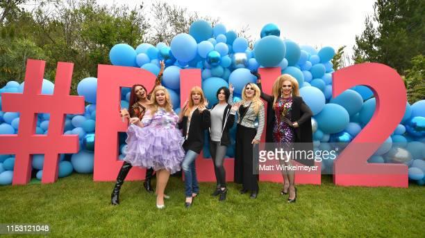 Mariah Balenciaga Delta Work Morgan McMichaels Sonique Pandora Boxx and Alyssa Edwards celebrate HBO's Big Little Lies Season 2 at Amabella's...
