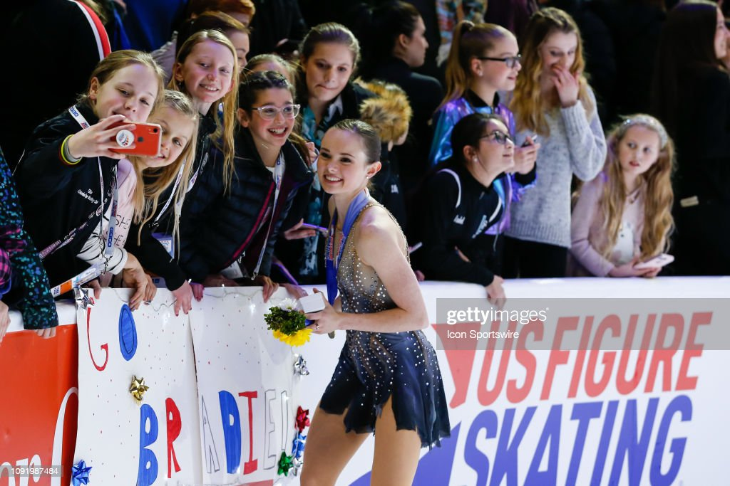FIGURE SKATING: JAN 25 US Figure Skating Championships : News Photo