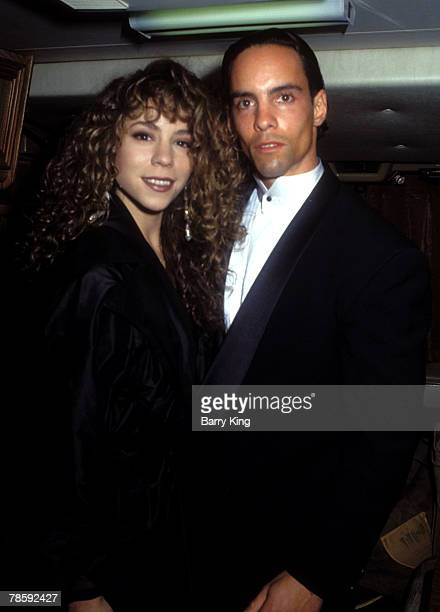 Mariah Carey and brother Morgan Carey