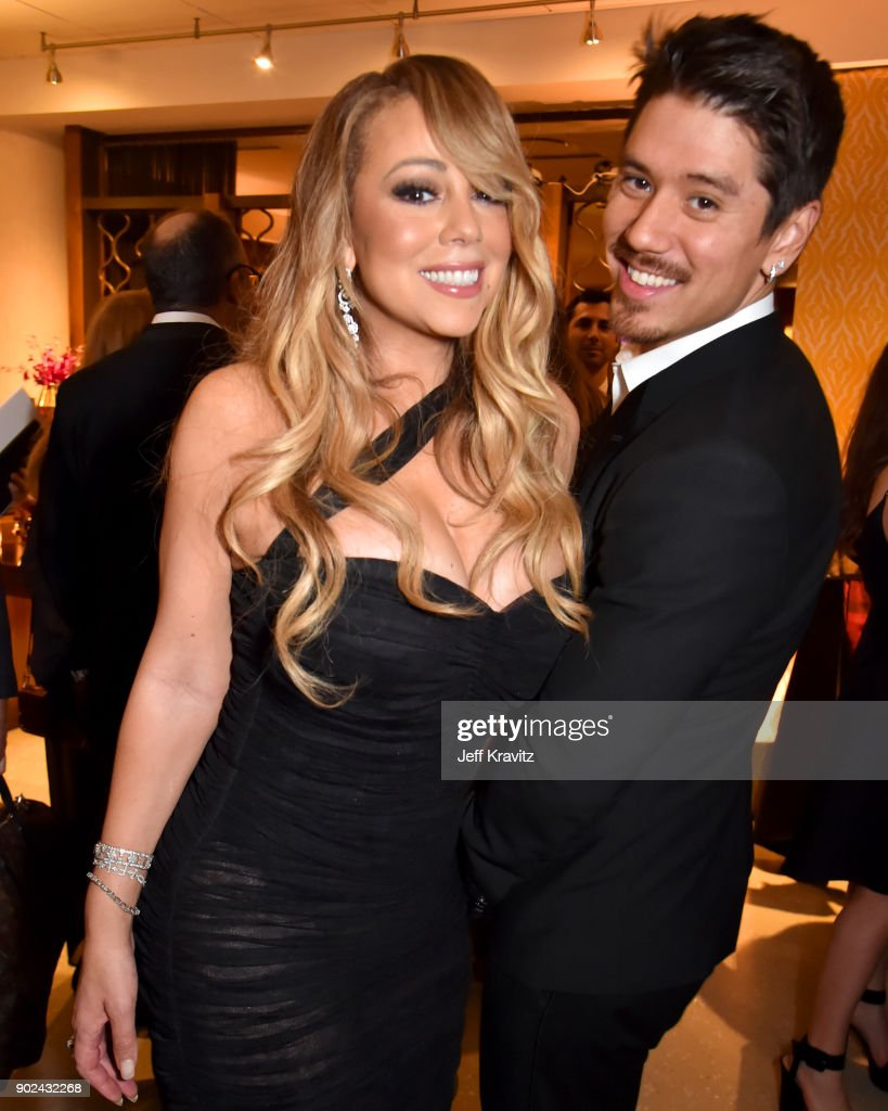 Mariah Carey golden globes 2018