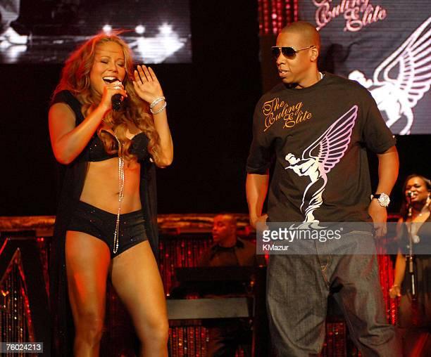 Mariah Carey and JayZ