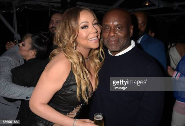 Mariah Carey and LA Reid attend the MC Records Launch Party a joint venture with Epic Records at CATCH LA on May 1 2017 in West Hollywood California