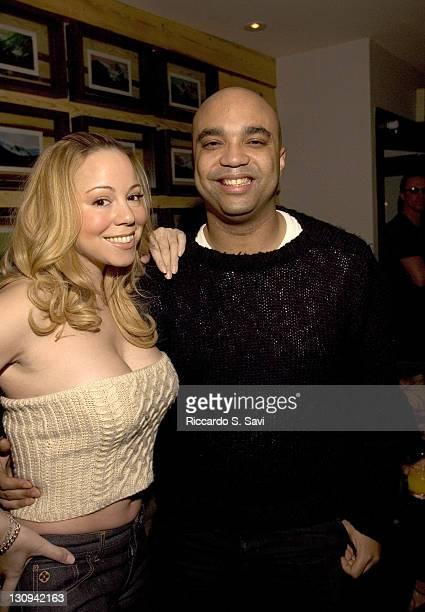 Mariah Carey and Shawn McDonald during Aspen Peak Magazine and Zino Platinum Cigars Present a Christmas Night Soiree with Host Mariah Carey at Sky...